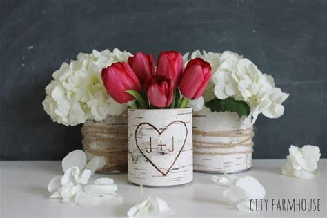 Diy Flower Vases by Diy Birch Bark Vases Rizzo