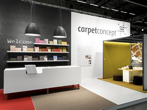 home design and furniture fair 2015 carpet concept stand at stockholm furniture fair 2015 by