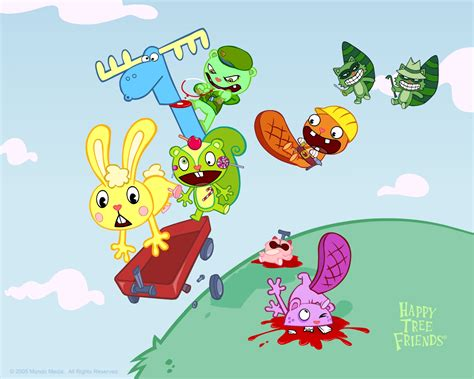 happy tree friends s day history of animation quot animation evaluations quot