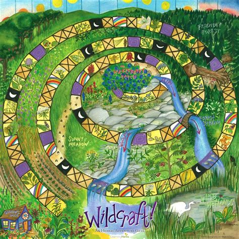 printable nature board games wildcraft an herbal adventure game