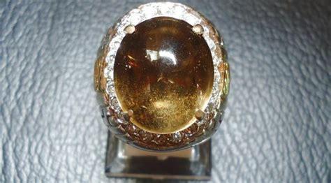 Batu Akik Coklat Teh 5 jenis batu kecubung yang paling banyak dicari para