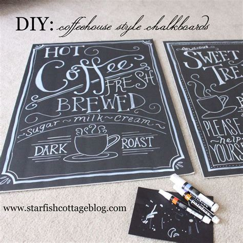 chalkboard paint pens 17 best ideas about coffee chalkboard on