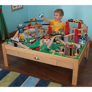 brio thomas train table kidkraft airport express train set table 100 piece