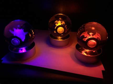 Light Up Pokeball by Custom Light Up Pokeballs Gaming