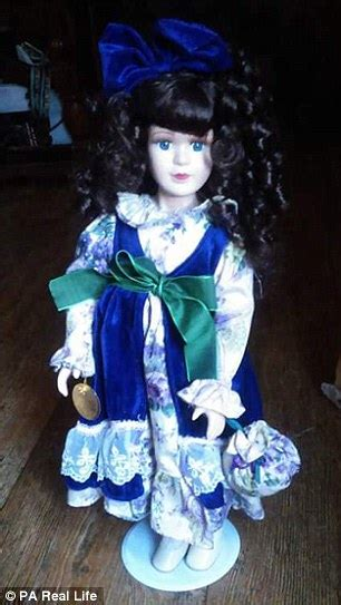 haunted doll daily mail alabama says his s haunted dolls attacked