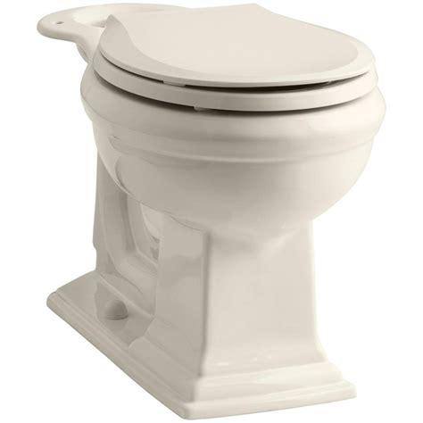 kohler comfort height round toilet kohler memoirs comfort height round front toilet bowl only