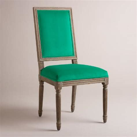 emerald square back dining chairs set of 2 world