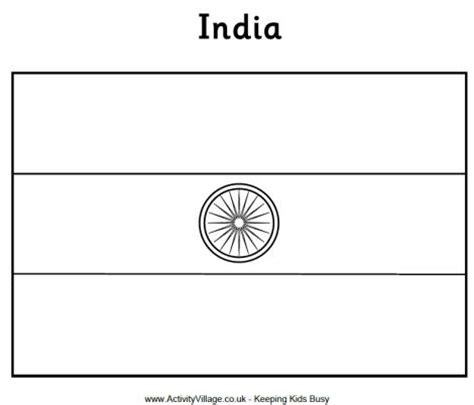 coloring page for indian flag india flag coloring page c1 w8 school cc general info
