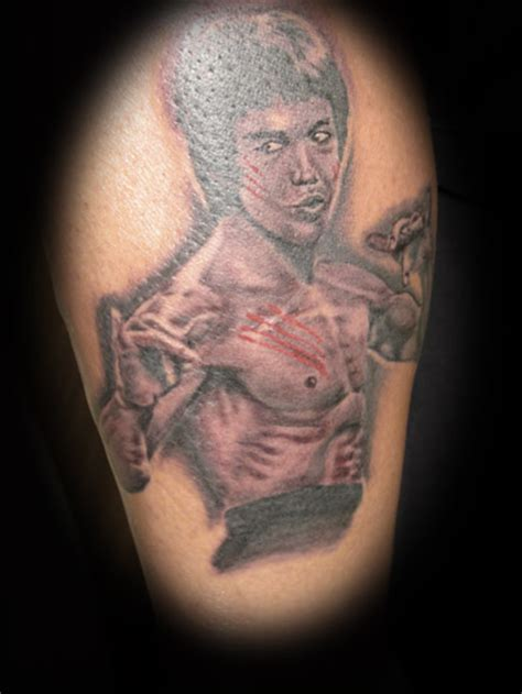 bruce lee tattoos bruce by benzoart on deviantart