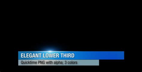 20 Best Lower Thirds Templates Motion Tutorial Zone Propresenter Lower Third Templates