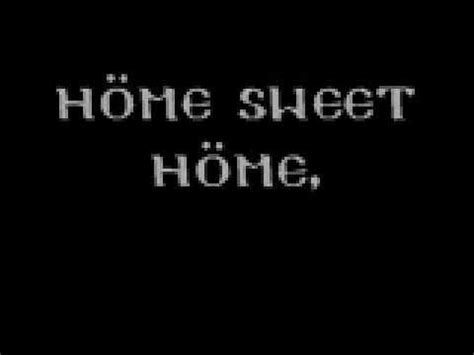 motley crue home sweet home w lyrics