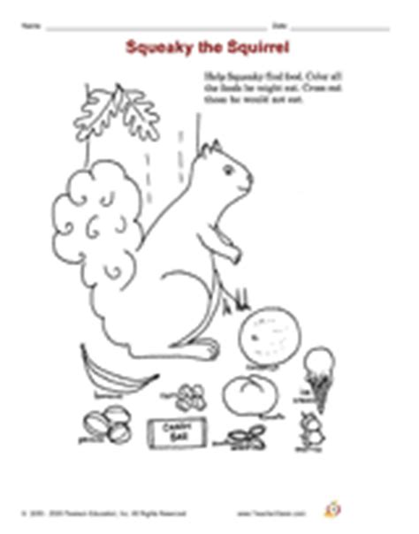 Animals Printables Slideshow (Grades K-1) - TeacherVision