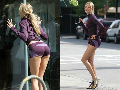 Karolina Kurkova Has Cellulite runner things 1086 cellulite hey its normal even