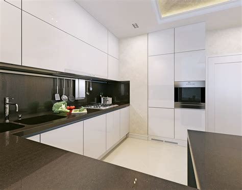 Black White Kitchen Designs 17 Small Kitchen Design Ideas Designing Idea