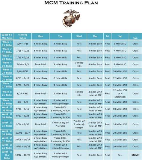 marine boot c schedule best 25 marine workout ideas on