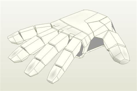 iron suit template papercraft papercraft iron suit arm parts wearable
