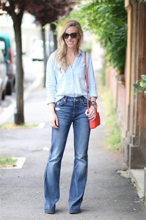 2016 bootcut jeans in or out 10 cool denim shirts for spring summer 2016 the jeans blog