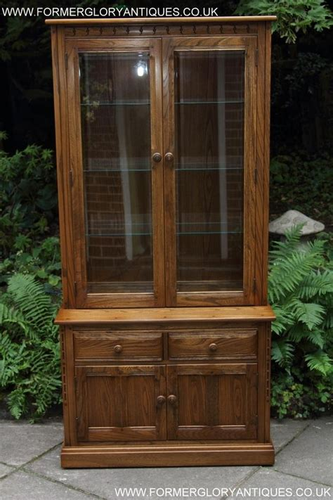 Ercol Display Cabinet by Ercol Golden Display Cabinet Sideboard Dresser Base