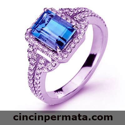 High Quality Batu Permata Blue Safir cincinpermata jual batu permata batu mulia asli