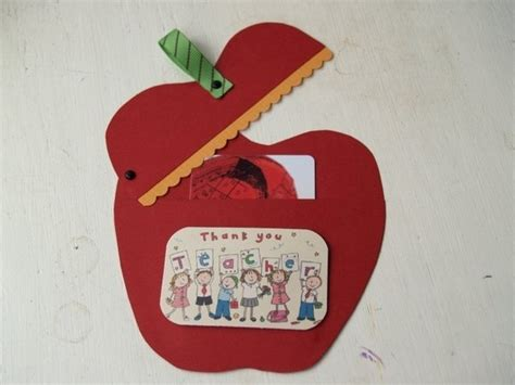 Apple Gift Card Pin - apple gift card holder crafts for school teacher appreciation p