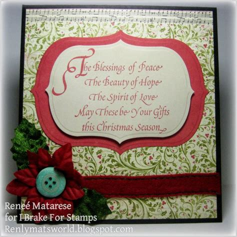 Verses For Handmade Cards - 17 best images about chritmas verses on easy