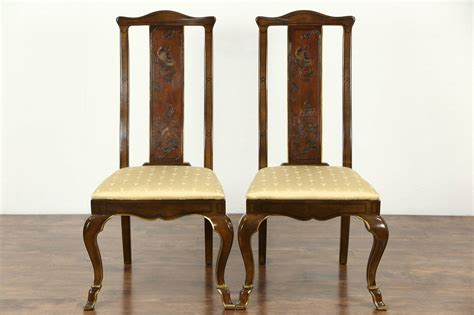 drexel heritage connoisseur chinese motif vintage dining set table  chairs ebay