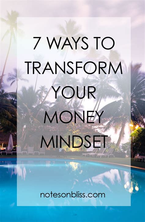 don t feel stuck journaling methods to transform your mindset live in universal abundance books 7 ways to transform your money mindset notes on bliss