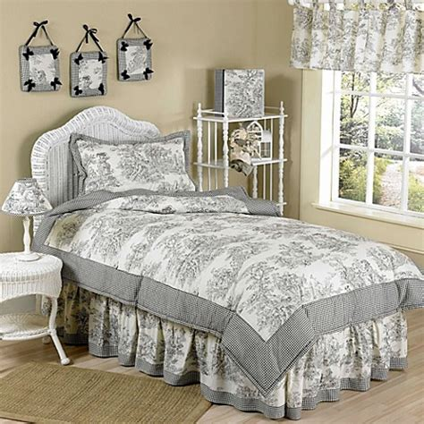 cream twin comforter sweet jojo designs french twin bedding collection in black