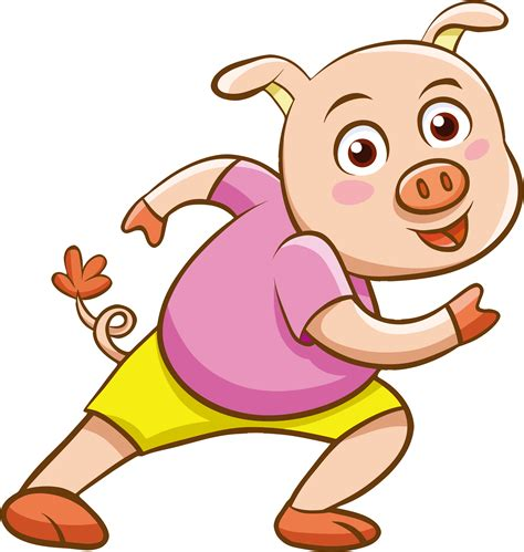 cartoon png cartoon pig png