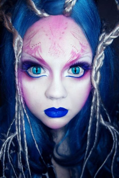 halloween hairstyles for vires alien makeup 33 cool crazy ideas
