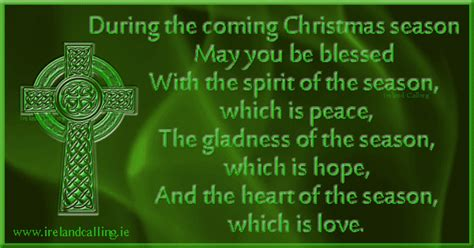 ireland facts about christmas blessings and carols ireland calling
