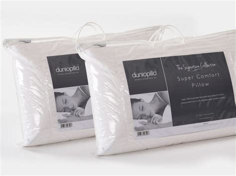 Cheapest Dunlopillo Comfort Pillow by Pair Of Dunlopillo Comfort Pillows From The Sleep Shop