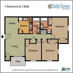 3 Bedroom 2 Bathroom 3 Bedroom 2 Bath Tulip Grove Apartments Hermitage Tn