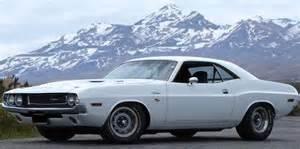 1970 white dodge challenger vehicles