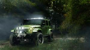 jeep trees landscape off road led headlight wallpapers
