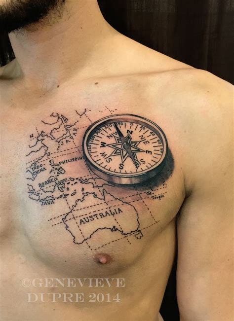 compass tattoo men compass images designs