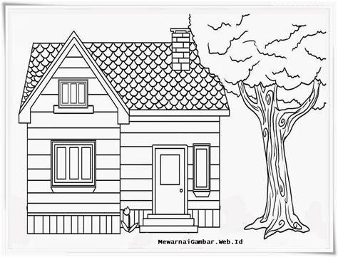gambar rumah kartun mewarnai gambar rumah adat