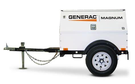 mobile generator generac mobile diesel generator mlg8k absolute generators