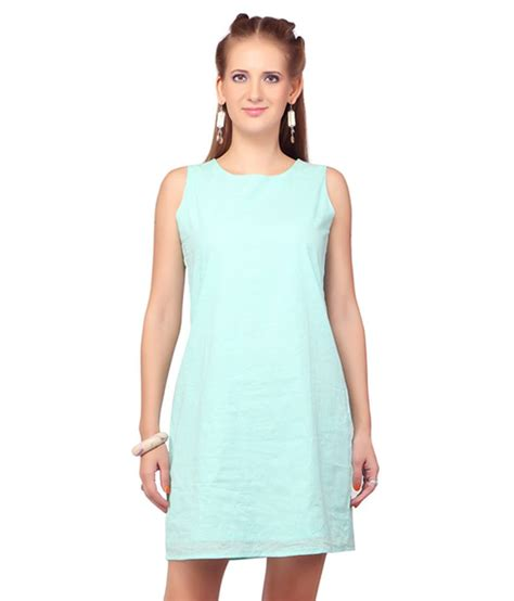 Septia Dres buy sepia blue casual dress at best prices in india
