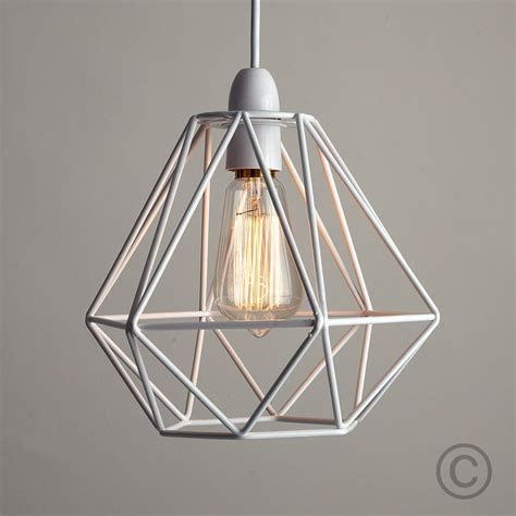 metal frame lights modern industrial caged metal ceiling pendant light shade