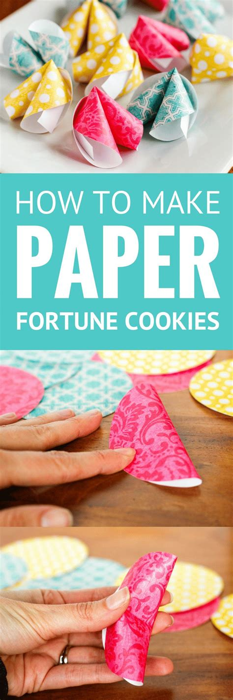 How To Make A Paper Fortune Cookie - best 25 fortune cookie ideas on origami