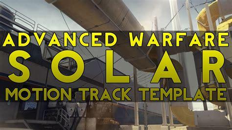 motion track template amazing advance warfare solar c4d 3d motion track