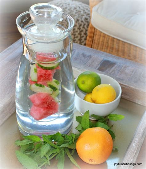 Infused Water Jug getting to the benefit of infused water for health