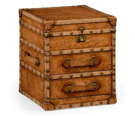 Steamer Trunk With Drawers by Steamer Trunk Chest W Drawers Jonathan Charles 494435