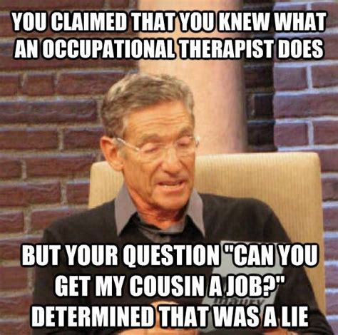 Funny Massage Memes - do you really know what occupational therapy is
