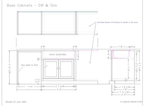facelift kitchen cabinet sink base woodworking plans