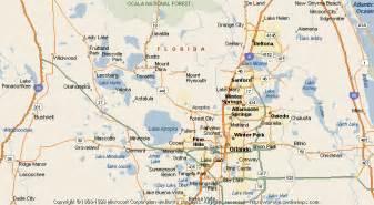 apopka florida map map of apopka