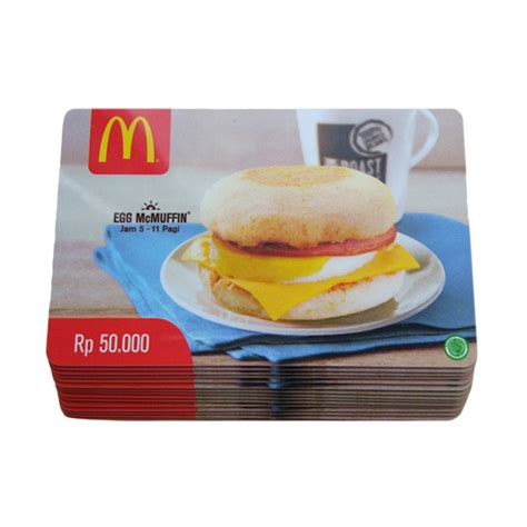 Voucher Macdonald 100 jual mcdonalds gift card physic voucher rp 100 000 50