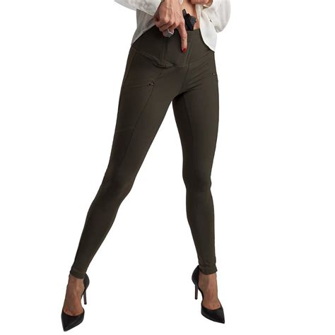 how can women conceal carry let me count the ways 30 cal gal zip pocket concealed carry leggings undertech undercover