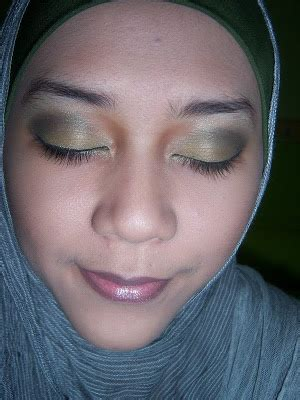 Lip Pencil Inez beautiful hijabi fotd green again jotd grey scarf with hairband